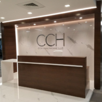 cch healthcare custom millwork design